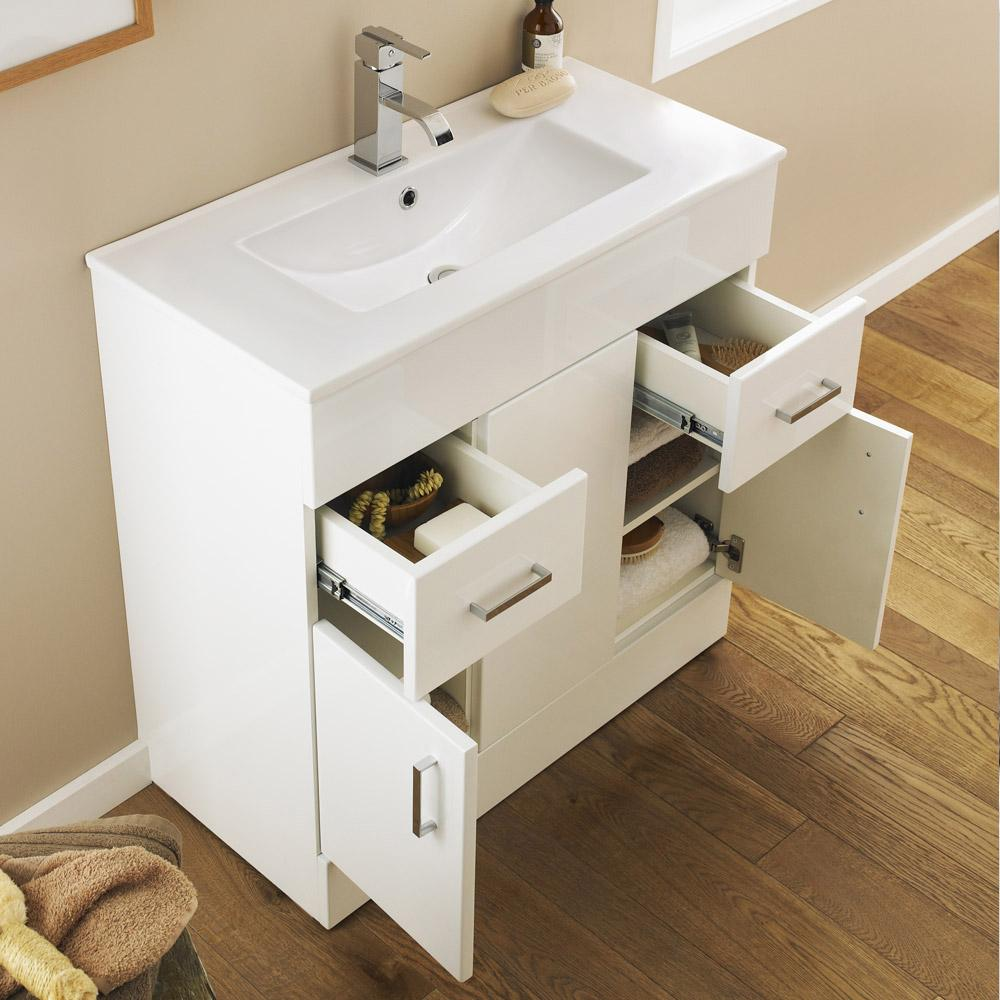 Floor standing vanity units gives a new look to your bathroom
