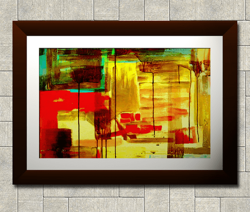 Wall paintings frames