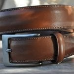 Tips on selecting the right leather belt dimension for males