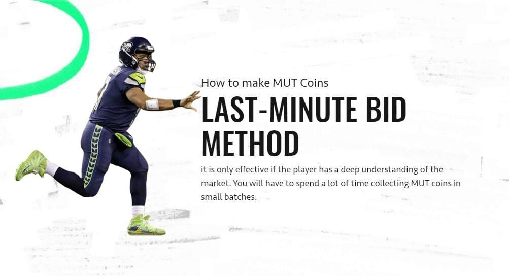 How to make MUT Coins with the Last-minute Bid Method