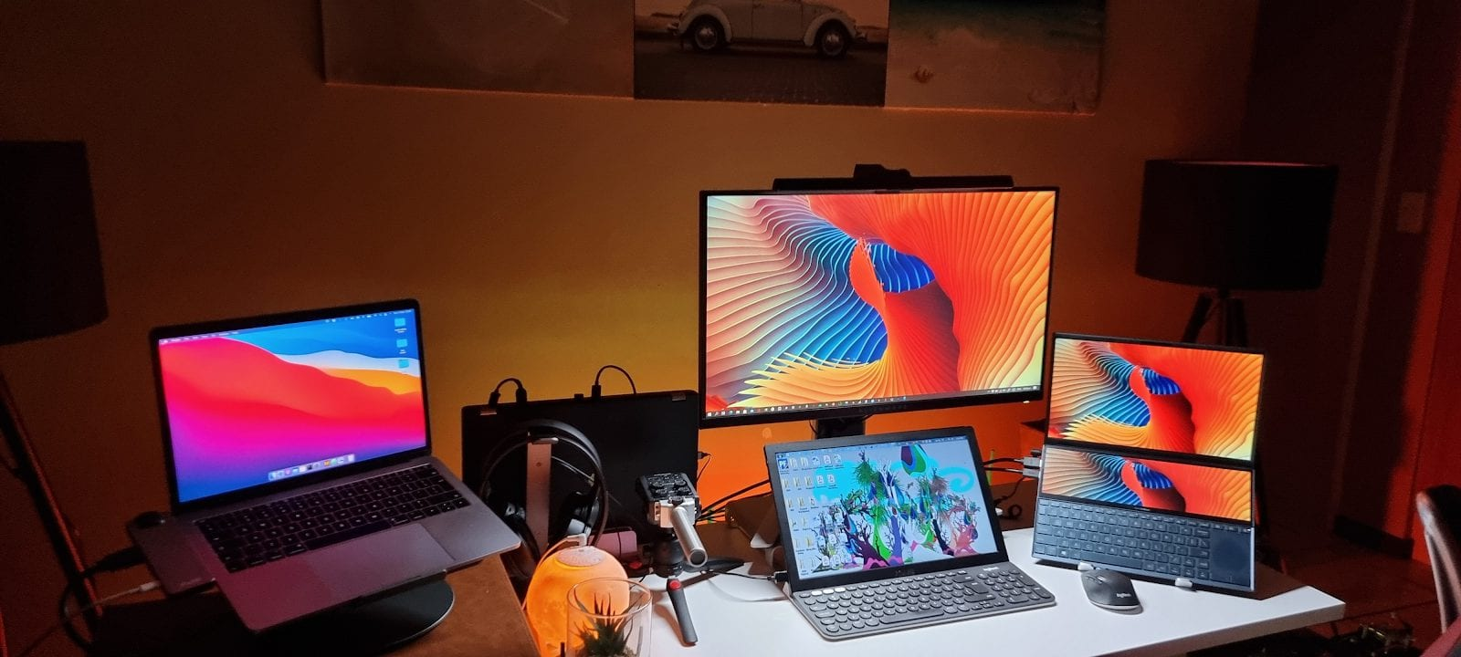 How A 6 Monitor Setup Can Improve Your Workflow