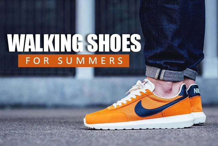 Lightweight Walking Shoes for Summers