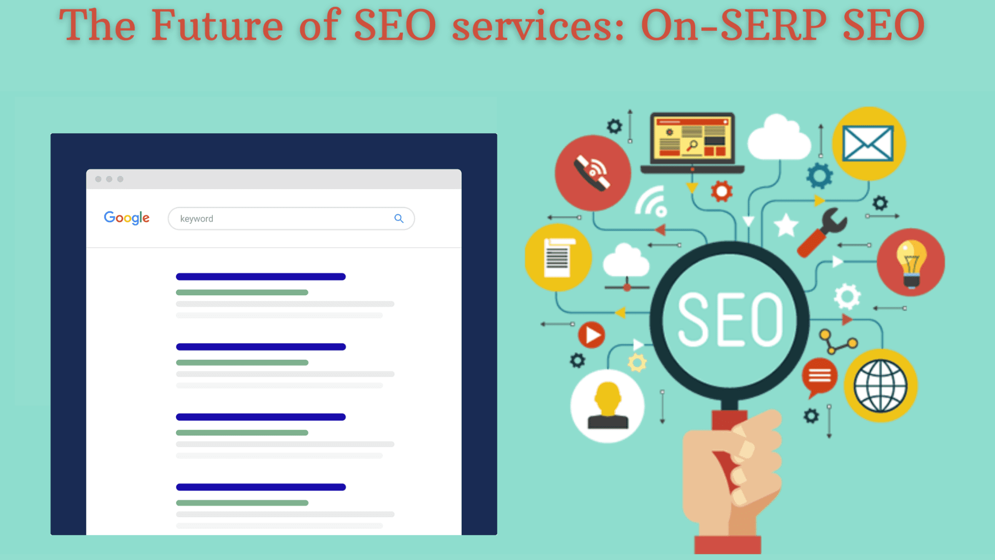The Future of SEO services - On-SERP SEO