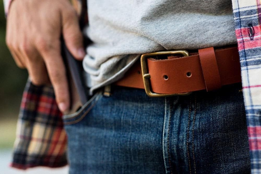 What type of belt should you wear?