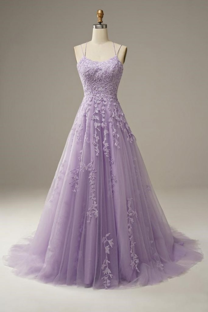 long ball gown with train
