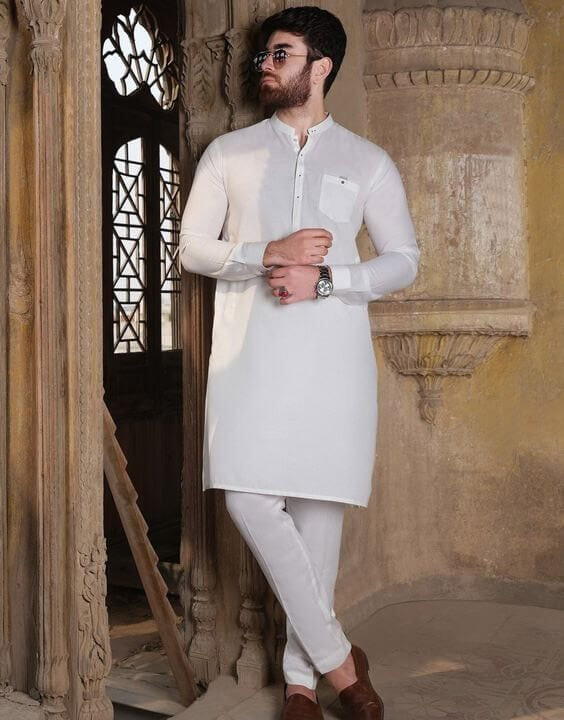 How To Style White Kurta Outfits For Men in 2021