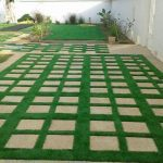 Artificial grassing for homes