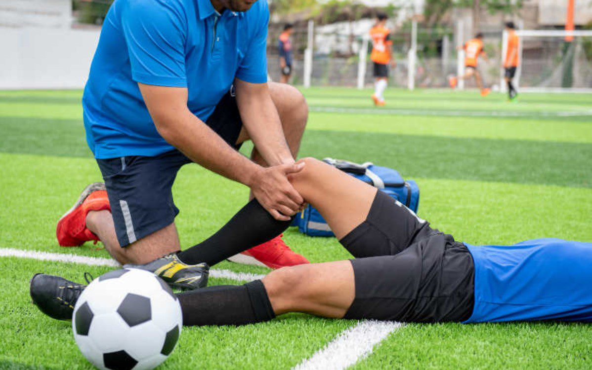 How can acupuncture help in treating sports injuries