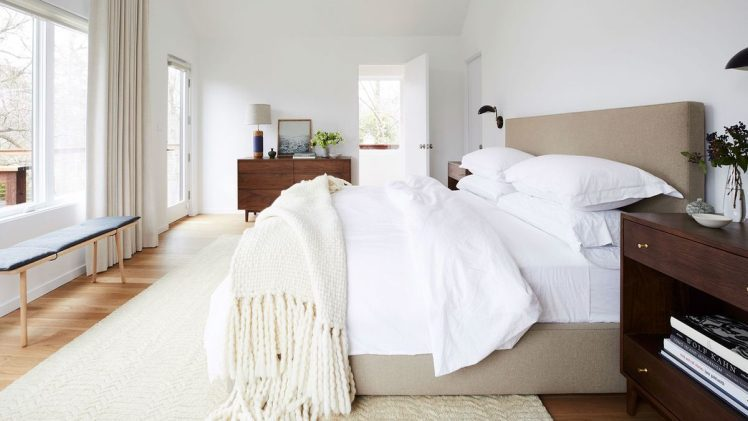 How can you make your bedroom more modern and beautiful?
