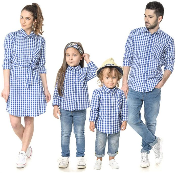 matching outfits for the family