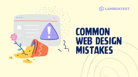 7 common web design mistakes you must avoid
