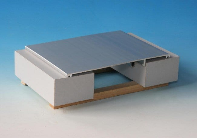 Aluminum Roof Expansion Joint Cover