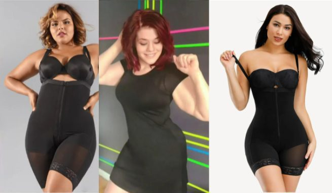 Shapewear Before and After