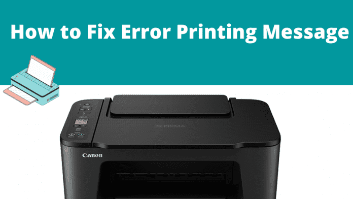 Error-Printing Message: Here's How to Fix
