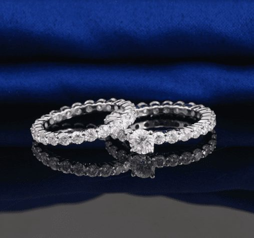 Eternity Engagement Wedding Ring Set - Your Key to a Great Engagement
