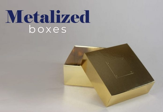 How Metalized Boxes Cover Your Luxurious Product Line